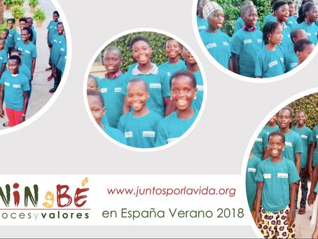 El Coro Benin gBe se prepara para su viaje a España