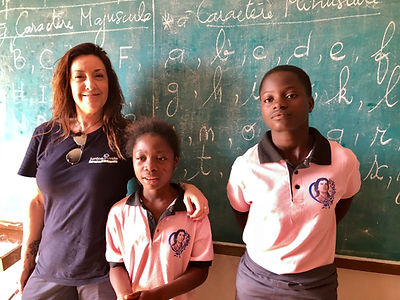 Escuela Alexda en Benin