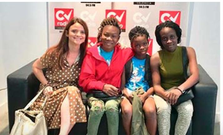 El Coro infantil Benin gBe comienza su gira por la CV. Junio 2019