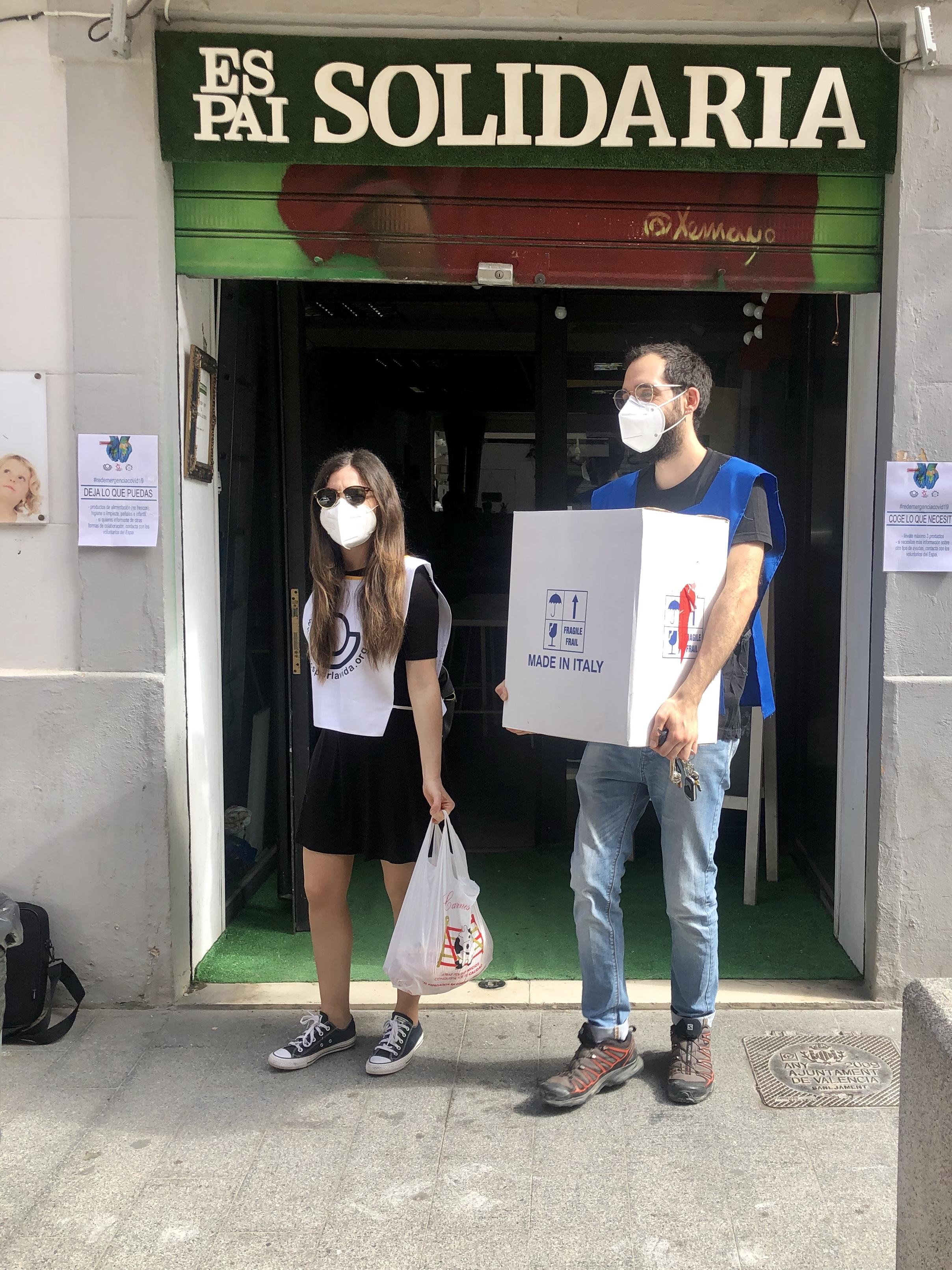 La Vanguardia. La Fundación Juntos por la Vida se reinventa por la Crisis del Coronavirus.  6 de May
