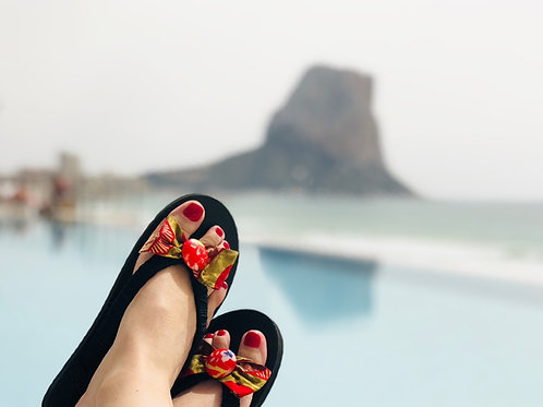Chanclas africanas