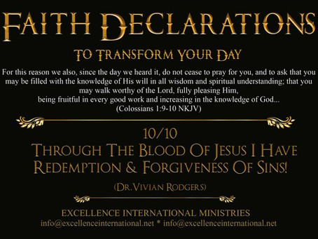 Faith Declarations