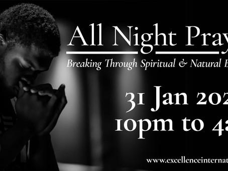All Night Prayer 2020