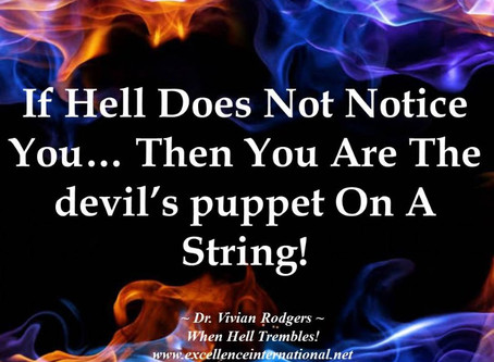 When hell trembles!