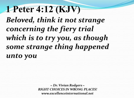 Right Choices In Wrong Plaes! Part 5.