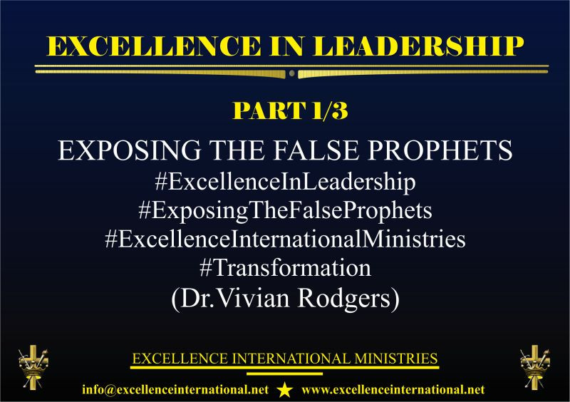 #ExcelleneInLeadership#Transformation