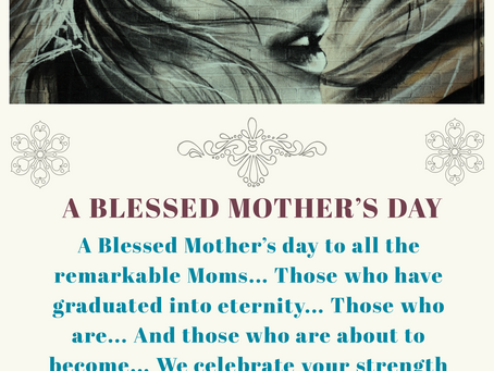 Blessed Mothersday To All The Moms