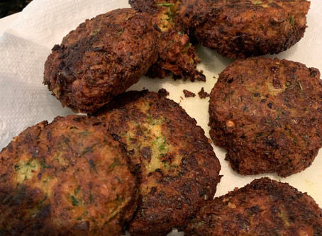 This quick, easy, versatile and filling... Falafel!