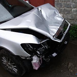 Восстановление передней части кузова