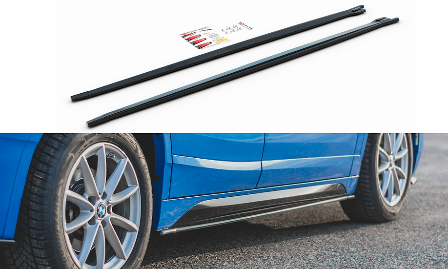 BMW X2 F39 M-PACK SIDE SKIRTS DIFFUSERS