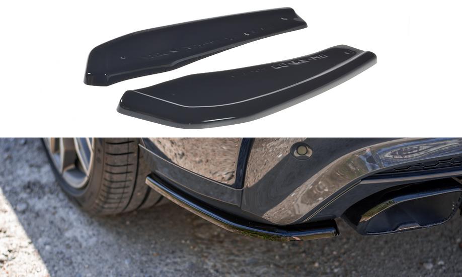 BMW X4 M-PACK G02 REAR SIDE SPLITTERS