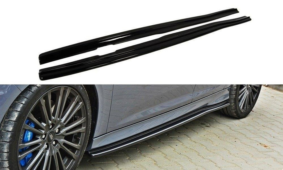 FORD FOCUS RS MK3 SIDE SKIRTS DIFFUSERS