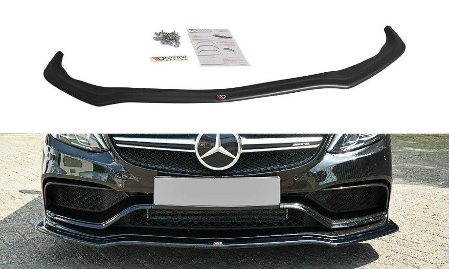 MERCEDES C-CLASS S205 63AMG ESTATE FRONT SPLITTER V.1