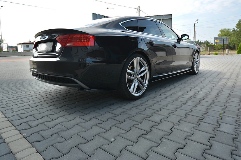 AUDI S5  A5  A5 S-LINE 8T  8T FL SPORTBACK SIDE SKIRTS DIFFUSERS