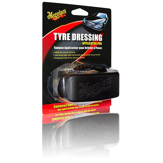 Mequiars tyre dressing applicator
