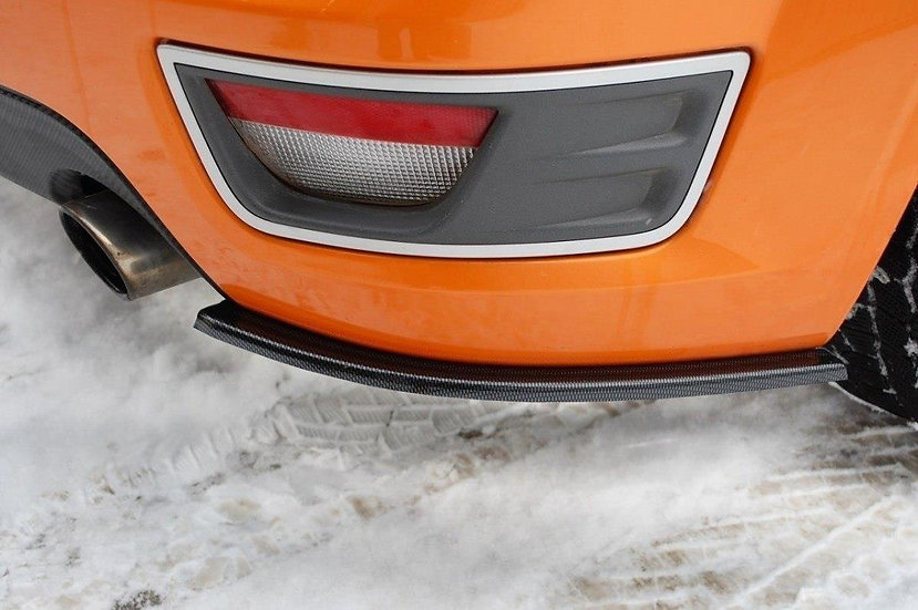 FORD FOCUS ST MK2 REAR SIDE SPLITTERS