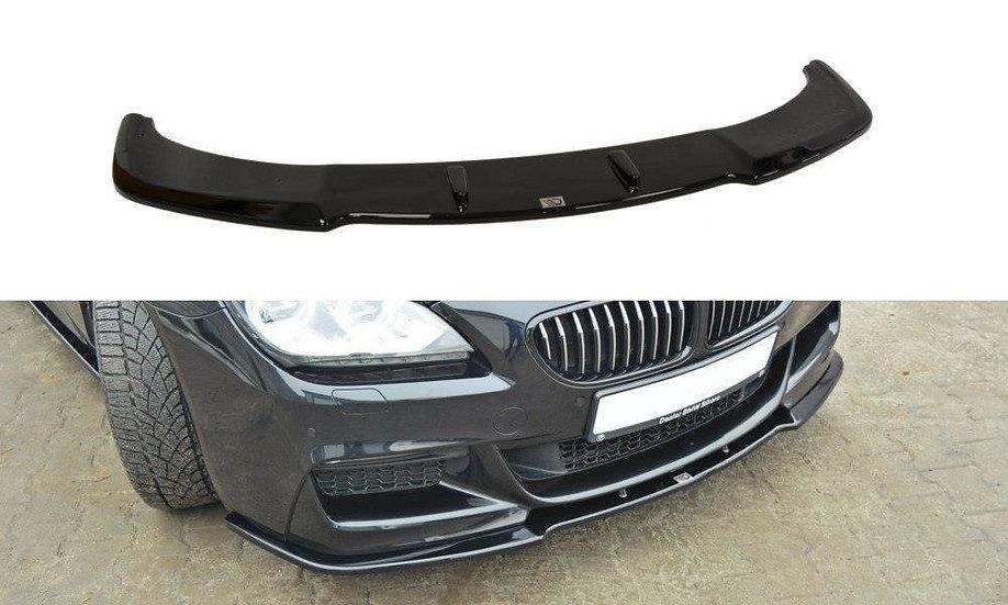 BMW 6 GRAN COUPÉ MPACK FRONT SPLITTER