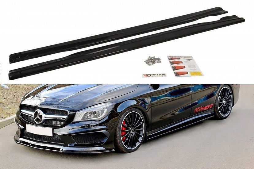MERCEDES CLA 45 AMG C117A45 AMG W176 (PREFACE) SIDE SKIRTS DIFFUSERS