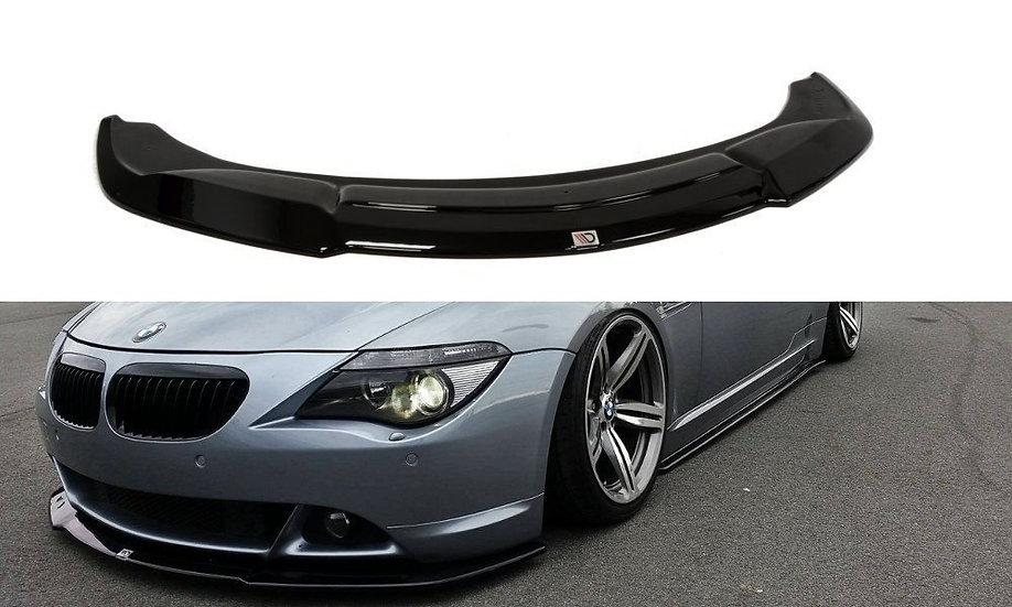 BMW 6 E63  E64 (PREFACE MODEL) FRONT SPLITTER  V.2