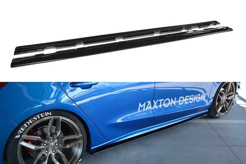 FORD FOCUS ST  ST-LINE MK4 SIDE SKIRTS DIFFUSERS