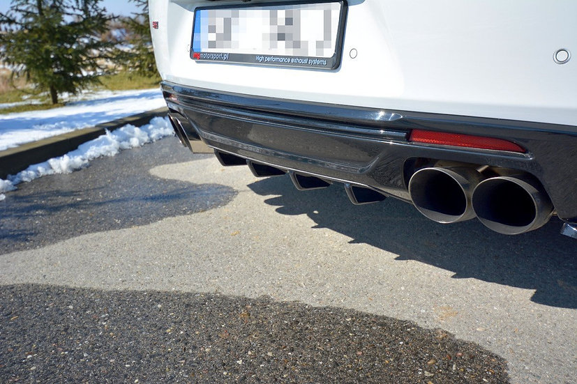 CHEVROLET CAMARO 6TH-GEN. PHASE-I 2SS COUPE REAR VALANCE