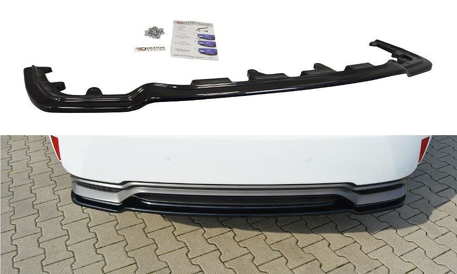 LEXUS RX MK4 H CENTRAL REAR SPLITTER  (WITHOUT VERTICAL BARS)
