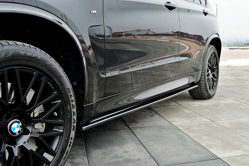 BMW X5 F15 M50D SIDE SKIRTS DIFFUSERS