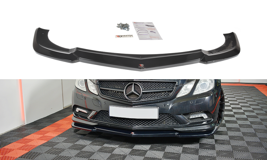 MERCEDES-BENZ E-CLASS W207 COUPE AMG-LINE FRONT SPLITTER