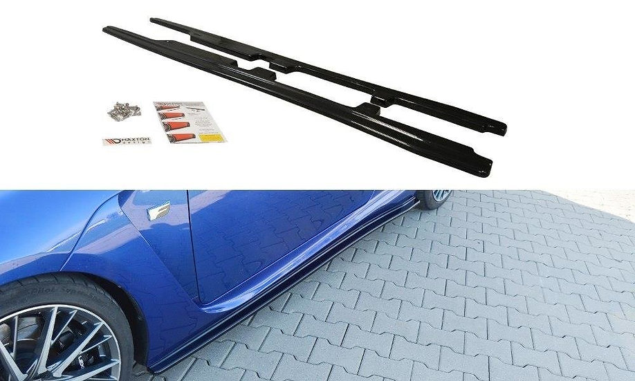 LEXUS RC F SIDE SKIRTS DIFFUSERS