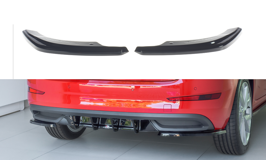 SKODA SCALA REAR SIDE SPLITTERS