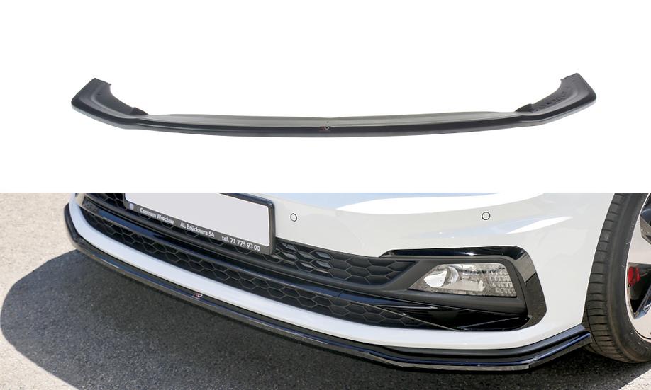 VW POLO MK6 GTI FRONT SPLITTER V.2