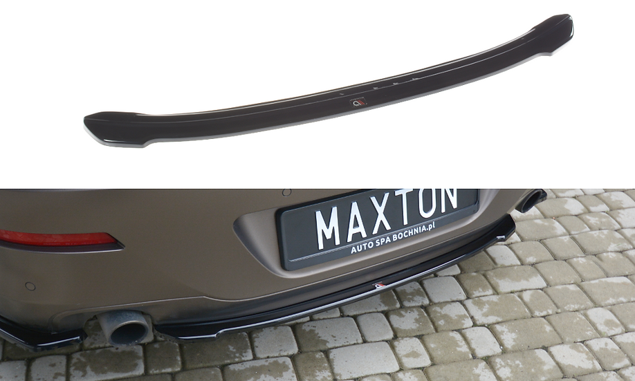 BMW 6 GRAN COUPÉ CENTRAL REAR SPLITTER