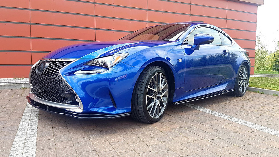 LEXUS RC SIDE SKIRTS DIFFUSERS
