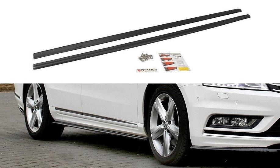 VW PASSAT B7 R-LINE SIDE SKIRTS DIFFUSERS