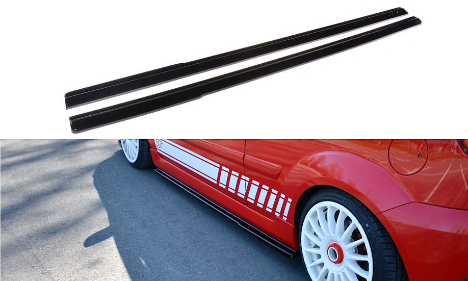 FORD FIESTA ST MK6 SIDE SKIRTS DIFFUSERS