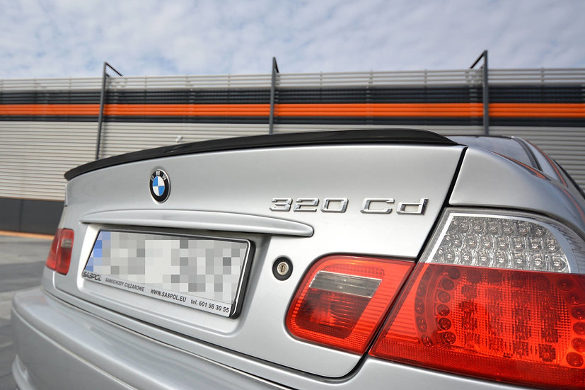 BMW 3 E46 COUPE PREFACE SPOILER EXTENSION