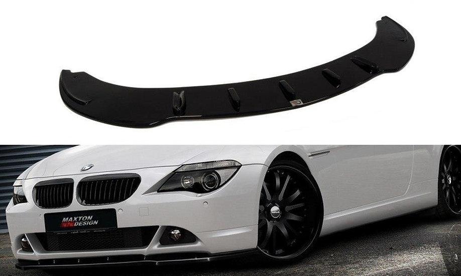BMW 6 E63  E64 (PREFACE MODEL)  FRONT SPLITTER V.1