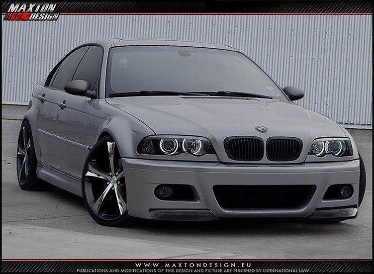 BMW 3 E46 - 4 DOOR SALOON FRONT BUMPER   M3 LOOK
