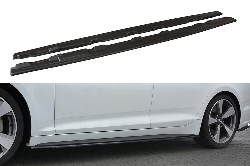 AUDI S5  A5 S-LINE F5 SPORTBACK SIDE SKIRTS DIFFUSERS