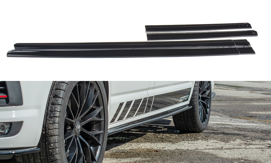 VW T6 SIDE SKIRTS DIFFUSERS