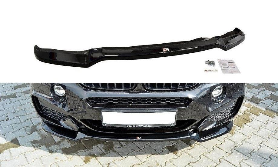 BMW X6 F16 MPACK FRONT SPLITTER V.1