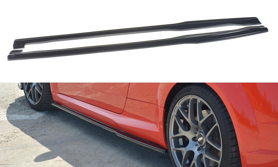 AUDI TT RS 8S SIDE SKIRTS DIFFUSERS