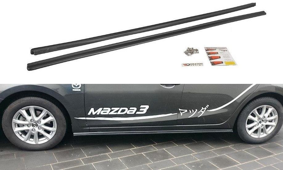 MAZDA 3 BM (MK3) FL SIDE SKIRTS DIFFUSERS