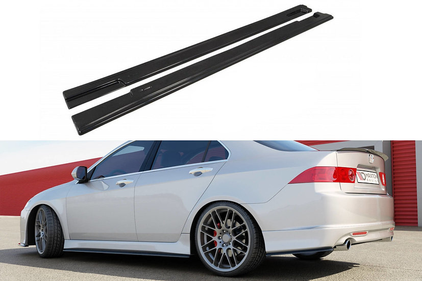 HONDA ACCORD VII TYPE-S SIDE SKIRTS DIFFUSERS