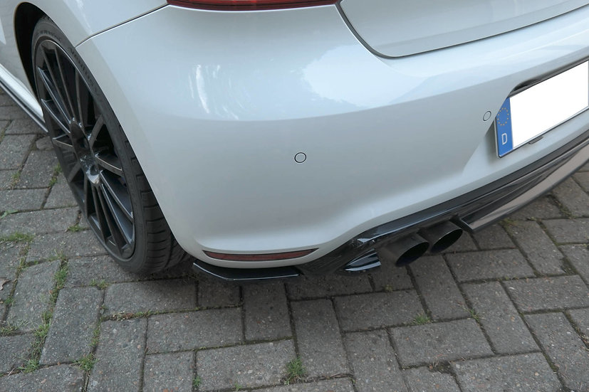 VW POLO MK5 R WRC REAR SIDE SPLITTERS