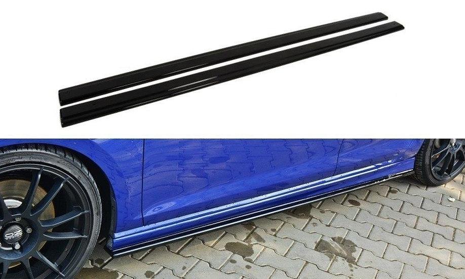 VW GOLF MK7 R HATCHBACK & ESTATE SIDE SKIRTS DIFFUSERS