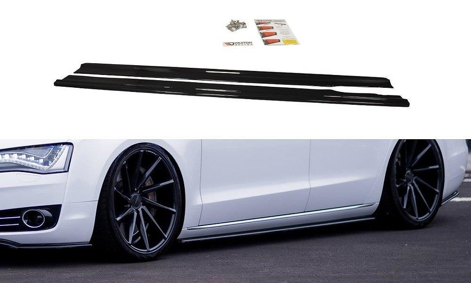 AUDI A8 D4 SIDE SKIRTS DIFFUSERS