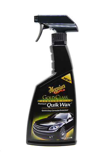 Meguiar's Gold Class Carnauba Plus Premium Quik Wax G7716