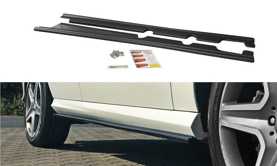 MERCEDES GLE W166 AMG-LINE SIDE SKIRTS DIFFUSERS