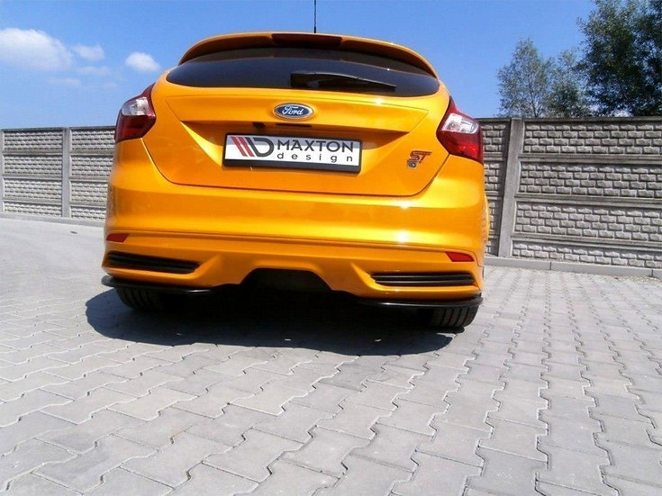 FORD FOCUS ST MK3 HATCHBACK REAR SIDE SPLITTERS